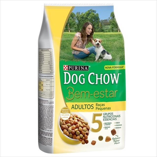 ração nestlé purina dog chow bem estar filhotes de raças médias e grandes - 3kg