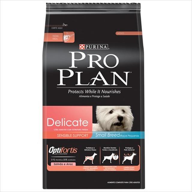 ração nestlé purina pro plan dog delicate - 3kg
