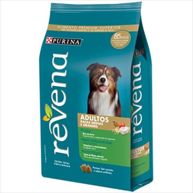ração nestlé purina revena para cães adultos raças médias e grandes - 15kg