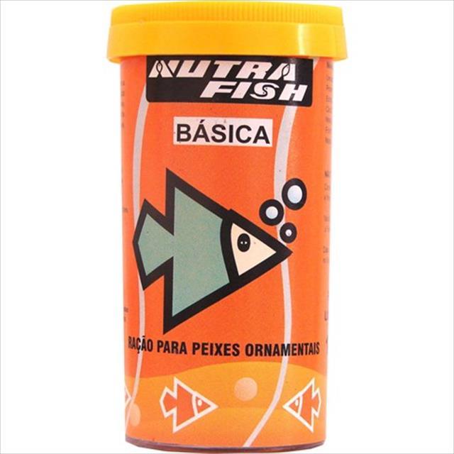 ração nutrafish básica - 800gr