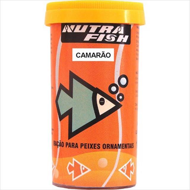 ração nutrafish camarão - 150gr