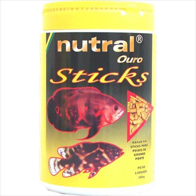 ração nutral ouro oscar sticks - 300gr
