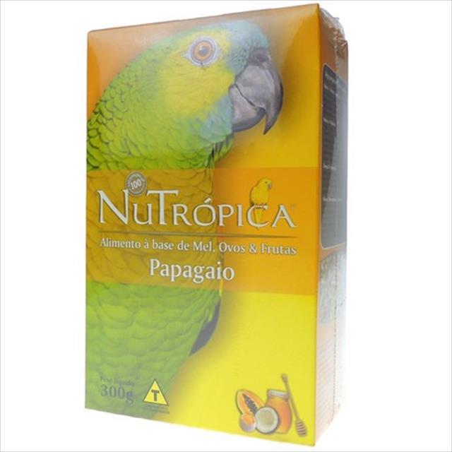 ração nutrópica à base de mel e ovos para papagaios - 300gr