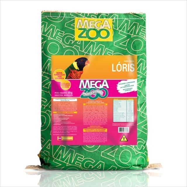 ração papa para loris megazoo - 6kg