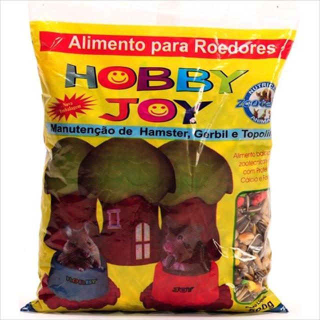 ra��o para hamster, topolino e roedores hobby joy zootekna - 500gr