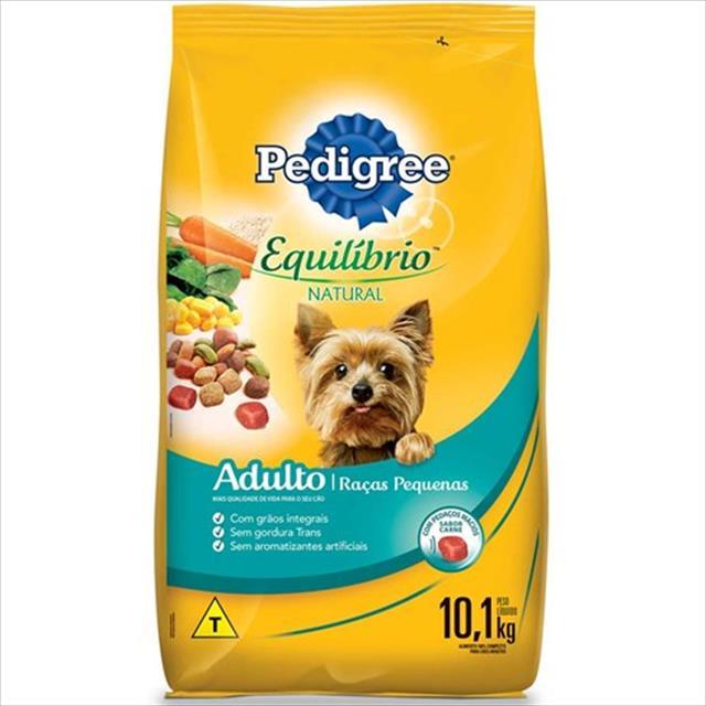 ração pedigree equilíbrio natural para cães adultos de raças pequenas - 3kg