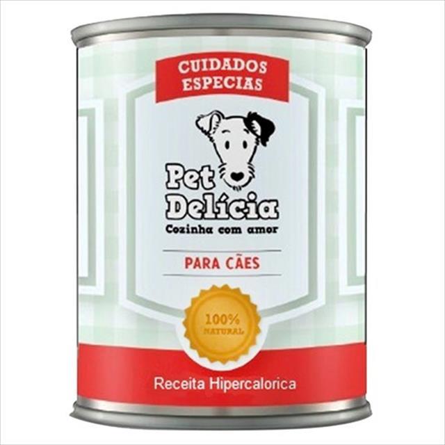 ração pet delícia dieta hiper-calórica - 320 g