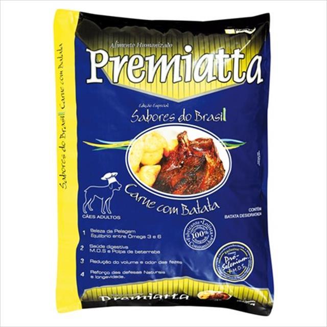 ração premiatta sabor carne com batata - 2kg