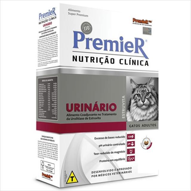 ração premier nutrição clínica para gatos urinário - 1,5kg