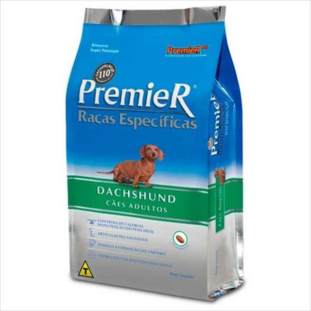 ra��o premier pet ra�as espec�ficas dachshund adulto - 7,5kg