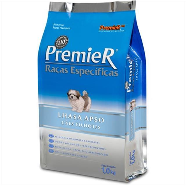 ração premier pet raças específicas lhasa apso filhotes - 1,0kg
