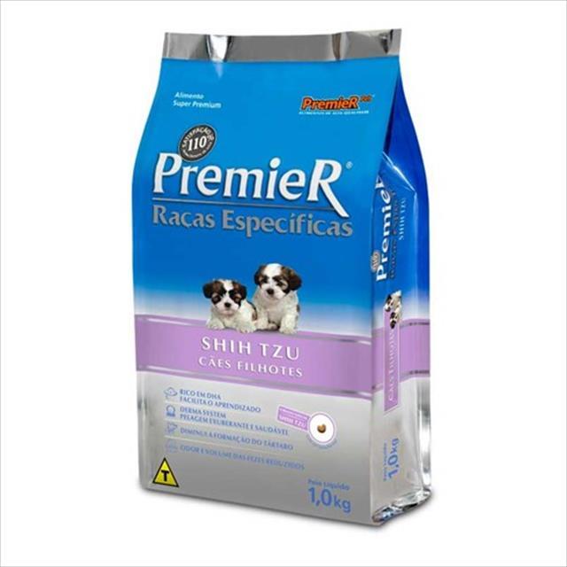 ração premier pet raças específicas shih tzu filhote - 2,5kg