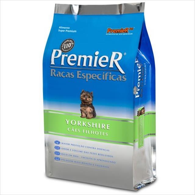 ração premier pet raças específicas yorkshire filhotes - 2,5 kg