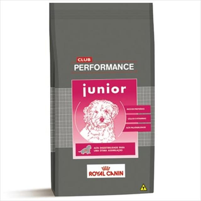 ração royal canin club performance junior para cães filhotes - 3 kg
