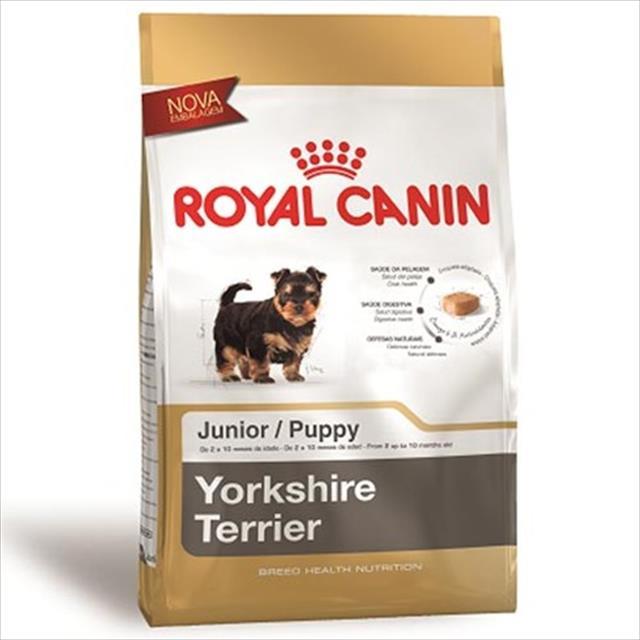 ração royal canin junior  para cães filhotes da raça yorkshire ração royal canin junior para cães filhotes da raça yorkshire - 3 kg