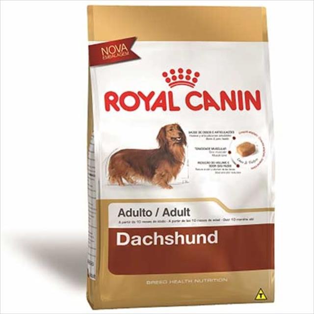 ração royal canin para cães adultos da raça dachshund - 7,5 kg