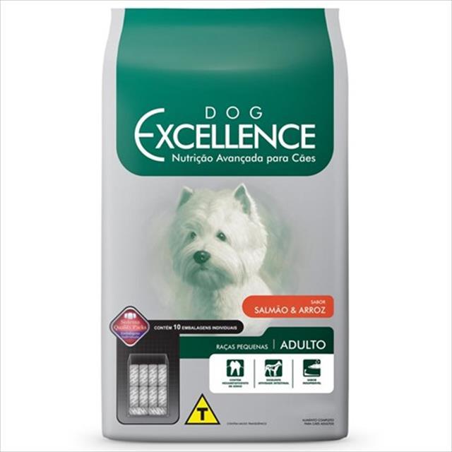 ração selecta dog excellence para cães adultos de raças pequenas - salmão e arroz 10 kg