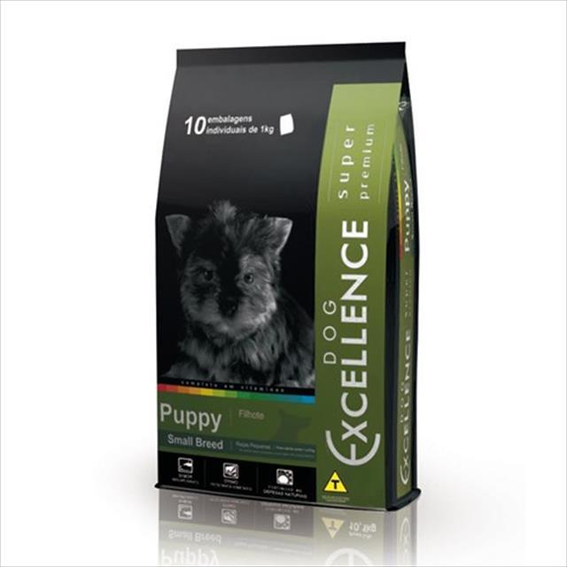 ração selecta dog excellence super premium para cães filhotes de raças pequenas - frango e arroz ração selecta excellence super premium para cães filhotes de raças pequenas - frango e arroz - 1 kg