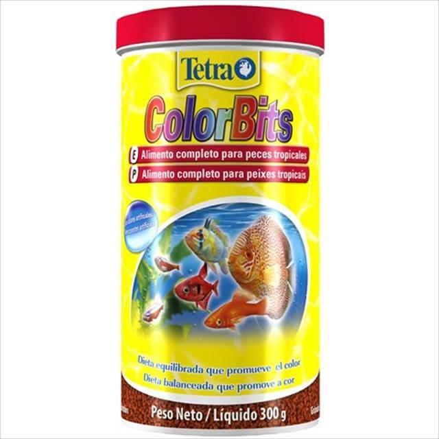 ração tetra colorbits granules em grânulos - 300gr