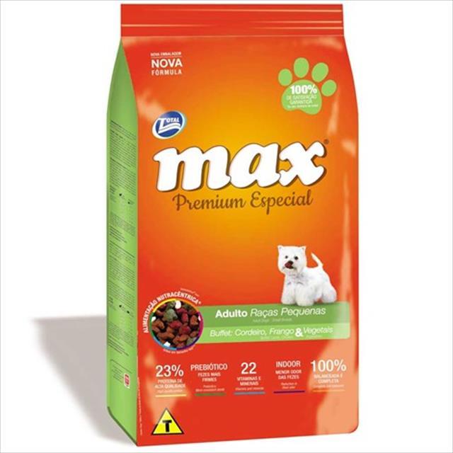 ração total max buffet para cães adultos de raças pequenas - 20 kg