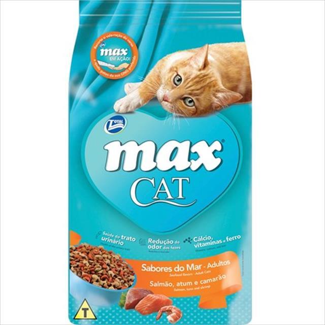 ração total max cat sabores do mar para gatos adultos - 1kg