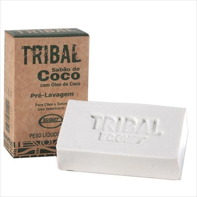 sabão ecovet coco tribal - 100gr