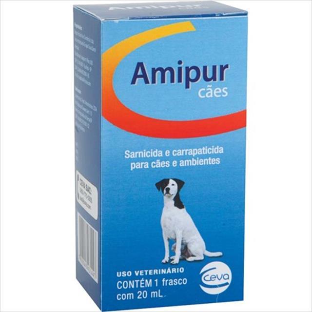sarnicida ceva amipur para cães - 20 ml