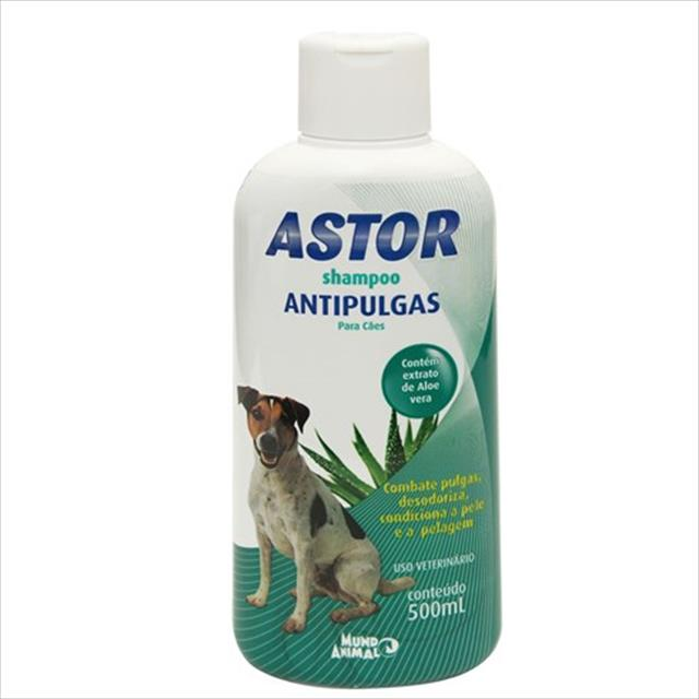 shampoo antipulgas astor para cães - 500ml