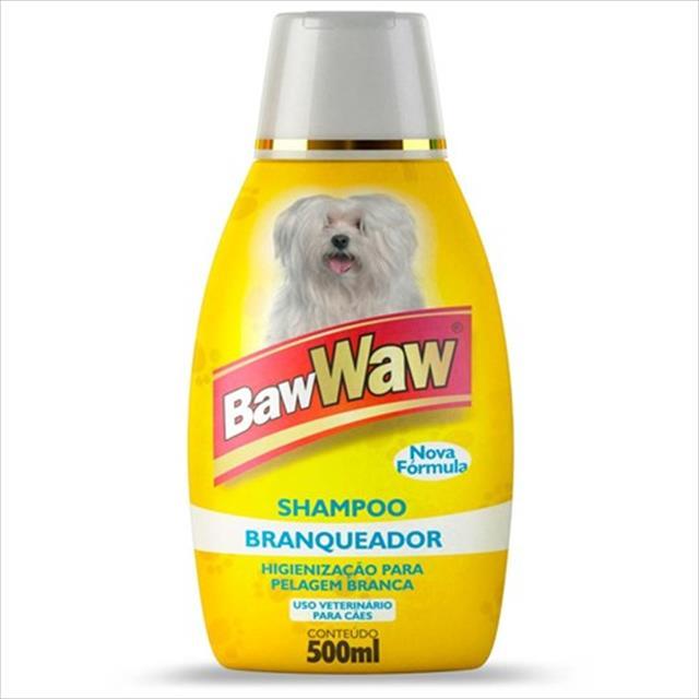 shampoo baw waw branqueador - 500 ml