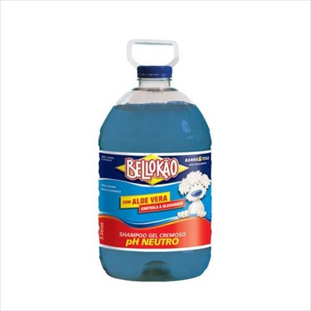 shampoo bellokão ecológico concentrado ph neutro - 5 litros