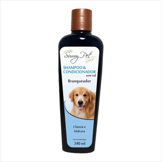 shampoo e condicionador branqueador 2x1 sem sal - 340ml