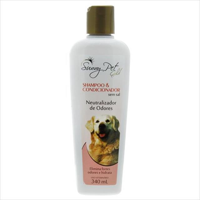shampoo e condicionador neutralizador de odores sem sal - 340ml