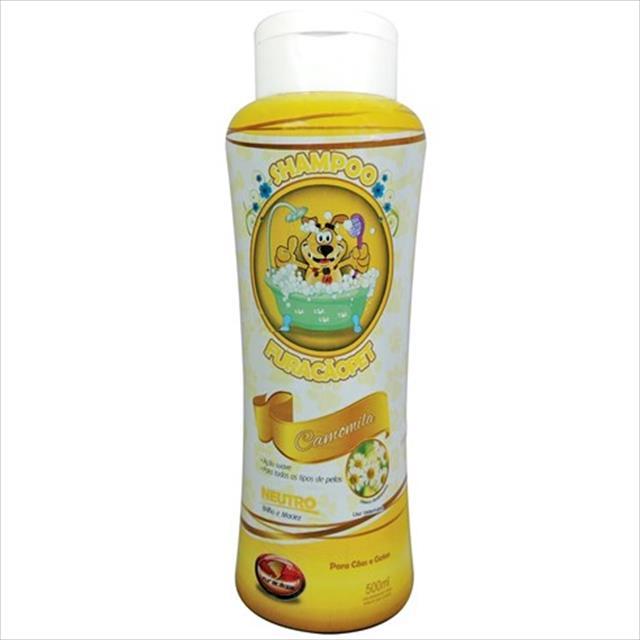 shampoo furacão pet camomila neutro - 500ml