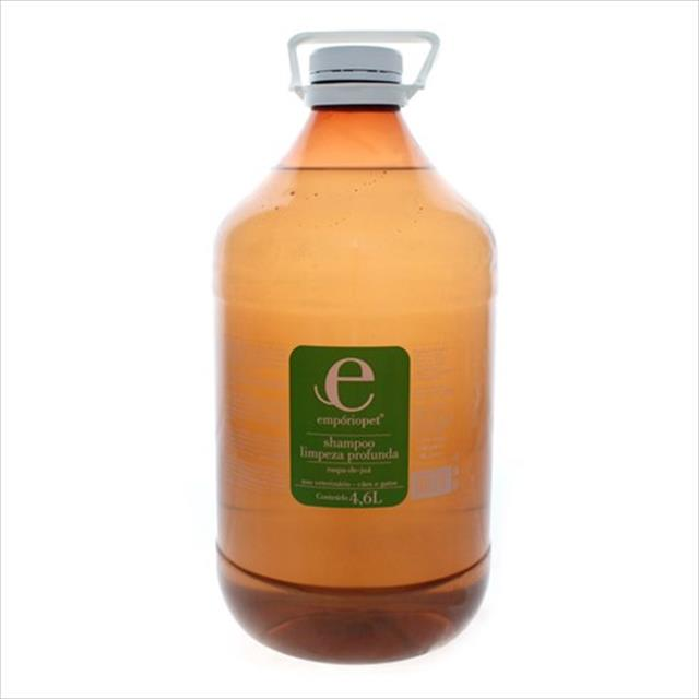 shampoo limpeza profunda com raspa de juá emporio pet shampoo limpeza profunda com raspa de juá - 4,6lt
