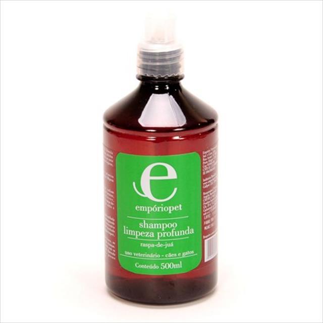 shampoo limpeza profunda com raspa de juá emporio pet shampoo limpeza profunda com raspa de juá - 500ml