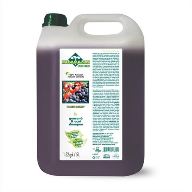 shampoo megamazon guaraná e açai - 5 litros