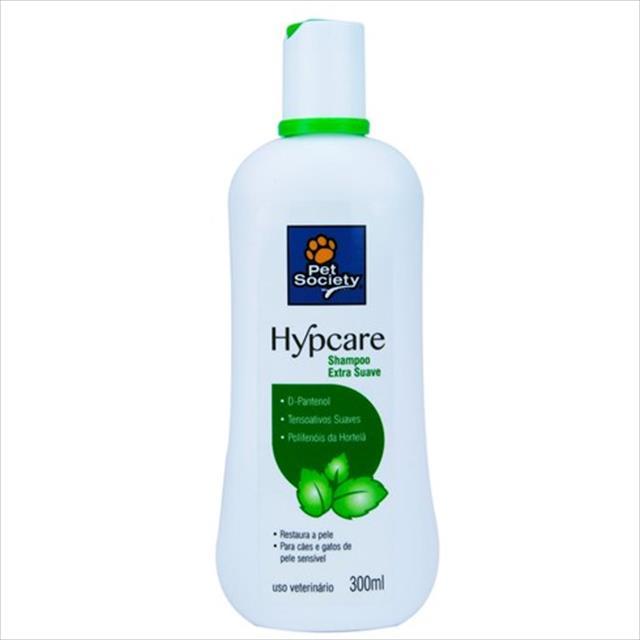 shampoo pet society hypcare - 300ml