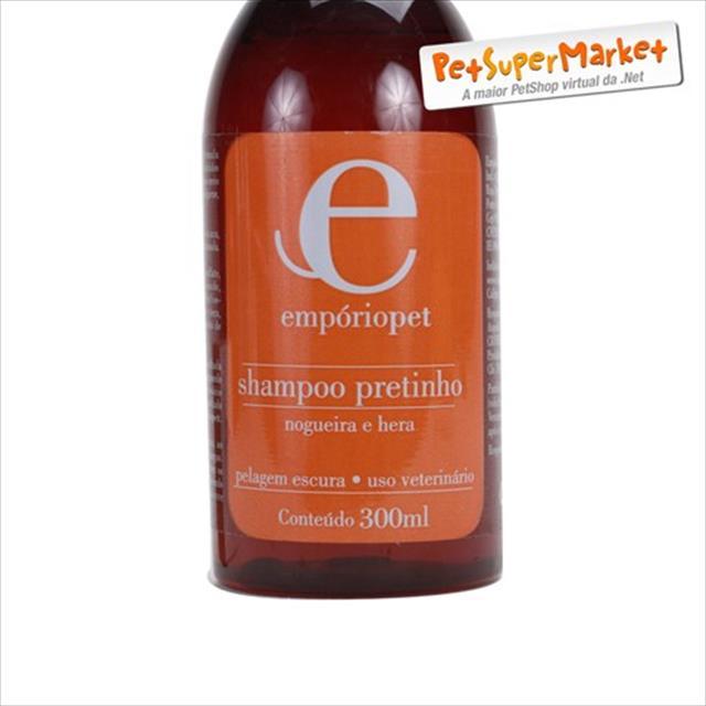 shampoo pretinho com hera e nogueira emporio pet shampoo pretinho com hera e nogueira - 300ml