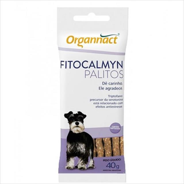 suplemento organnact fitocalmyn palitos - 40 g