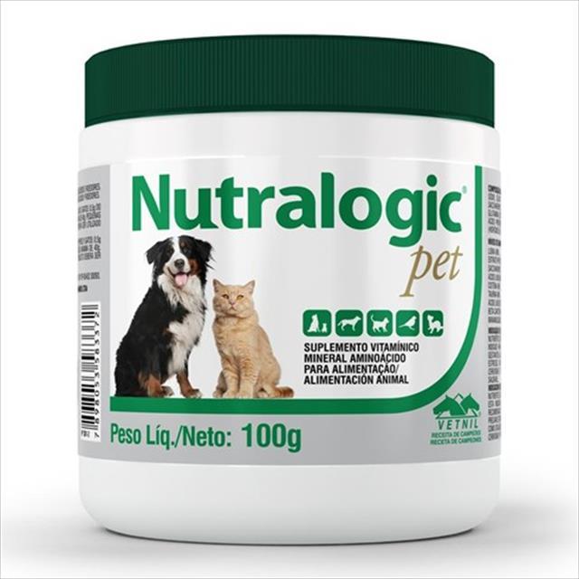 suplemento vetnil nutralogic pó - 100gr