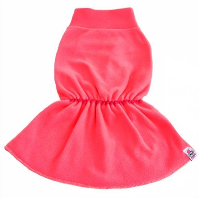 vestido bichinho chic básico rosa - tam. 01