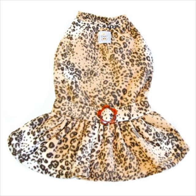 vestido bichinho chic soft bege - tam. 07