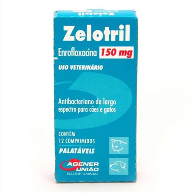 zelotril caixa com 12 comprimidos - 150mg