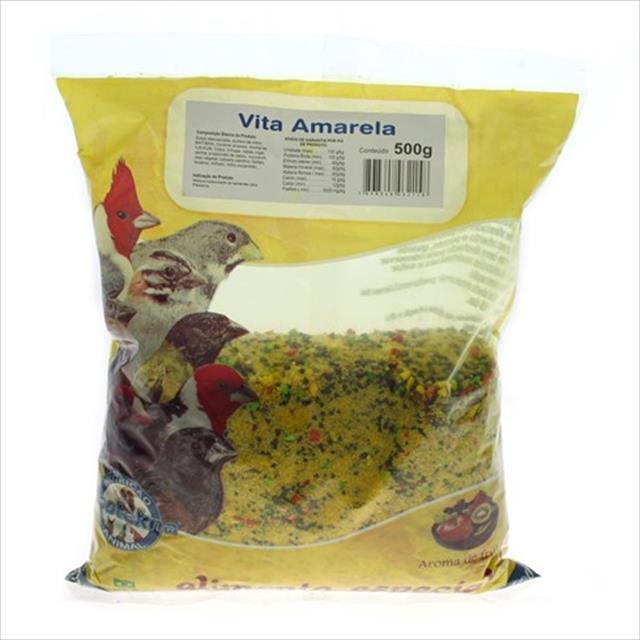 alimento zootekna vita amarela - 500gr