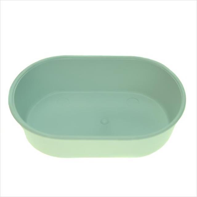 banheira mr pet plástica oval grande - branco