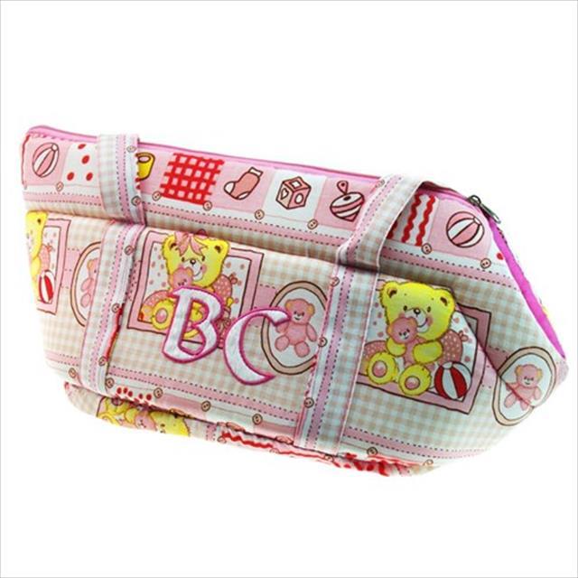 bolsa de transporte baby - rosa bolsa de transporte baby tam gg - rosa