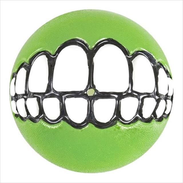 brinquedo bola rogz sorriso grinz - verde brinquedo bola rogz sorriso grinz verde - grande