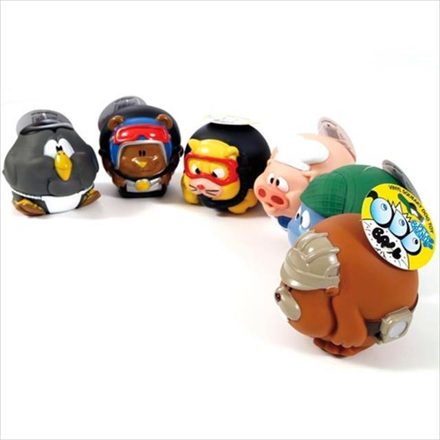 brinquedo duki bola de vinyl super resistente - hipopotamo soldado