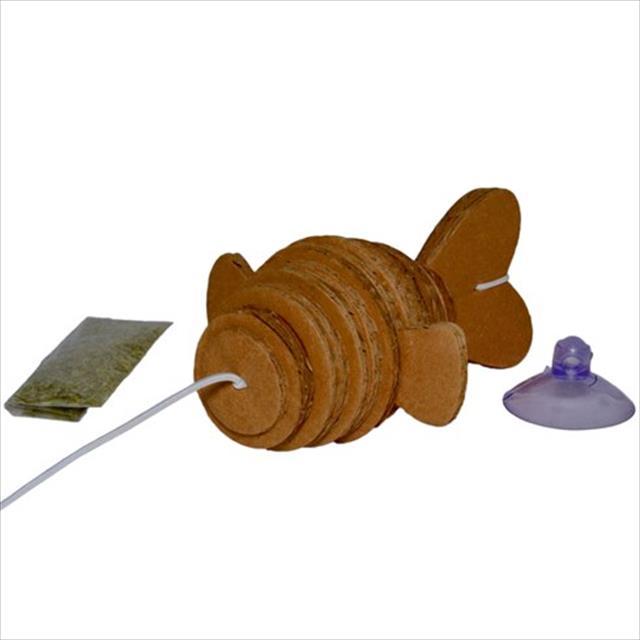 brinquedo ecológico pet games ecocaça peixe