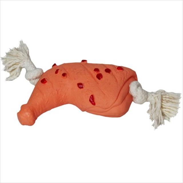 brinquedo futon dog frango vinil com corda